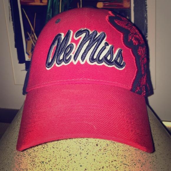 5a33d973f8f92 Collectible and rare Ole Miss hat w Colonel Rebel.  M 5c709d3f3e0caaea257d5601